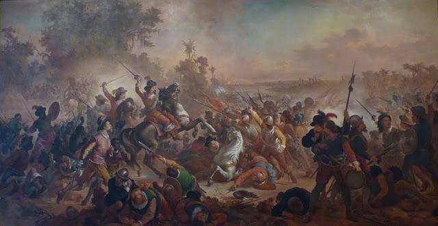 A Batalha de Guararapes na visão de Victor Meirelles