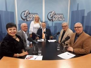 Beth Russo, Vitor Sapienza, Zenilta Salvato, Zancopé Simões, Marcos Calazans e Fernando Pinheiro Pedro