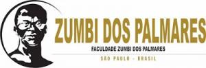 Logo da Faculdade Zumbi dos Palmares - 87% de alunos afrodescendentes - 60% de professores-doutores negros