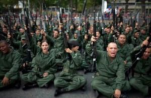 Milicia bolivariana - armando a violência urbana