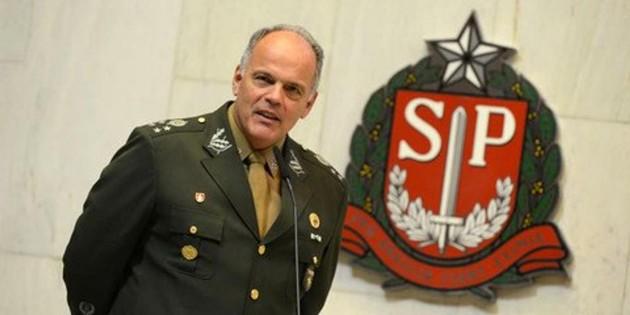 General João Camilo Pires de Campos, futuro Secretário da Segurança do Estado de São Paulo (imagem Câmara SP)