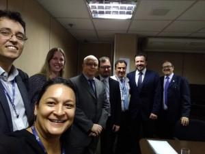 Grupo Técnico de Transição - na entrega do plano de gestão do Ministério do Meio Ambiente