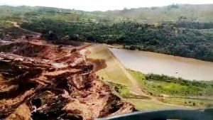 Barragem de Brumadinho - área do rompimento