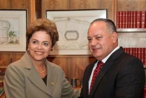 Diosdado Cabello tinha boas relações com Dilma... tanto quanto com o narcotráfico