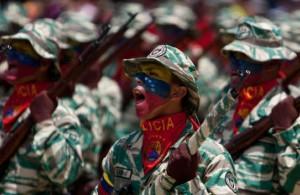 Milícias operárias bolivarianas - paramilitarismo no pior estilo narco-nazista