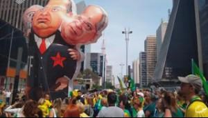 Manifestação contra o STF em São Paulo - SP