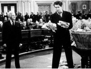 "James Stewart em ""Mr Smith goes to Washington"" - Columbia Pictures"