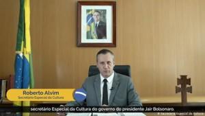 Roberto ou Ricardo Alvim, durante seu pronunciamento - postura e conteúdo extraídos de Goebbels