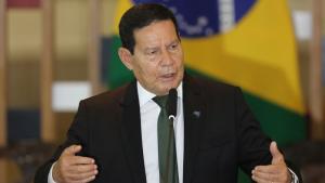 O vice-presidente da República e presidente do Conselho Nacional da Amazônia Legal, Hamilton Mourão. Foto: Fabio Rodrigues Pozzebom (Agência Brasil).
